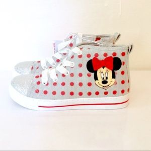 SALE! NWT. Minnie Mouse Sneakers. Size 12